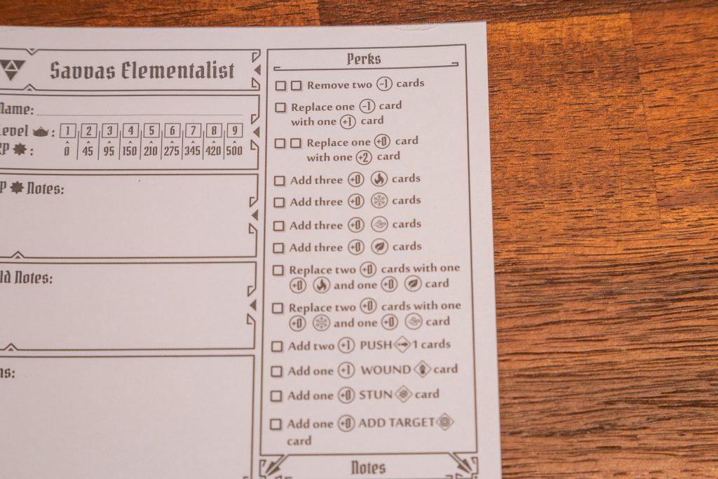 Gloomhaven, Triforce, Elementalist